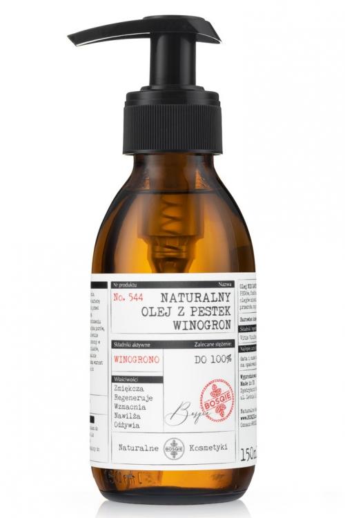 Naturalny olej z pestek winogron