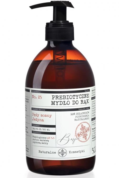 Naturalne Prebiotyczne Mydło do rąk - Pędy Sosny i Jeżyna