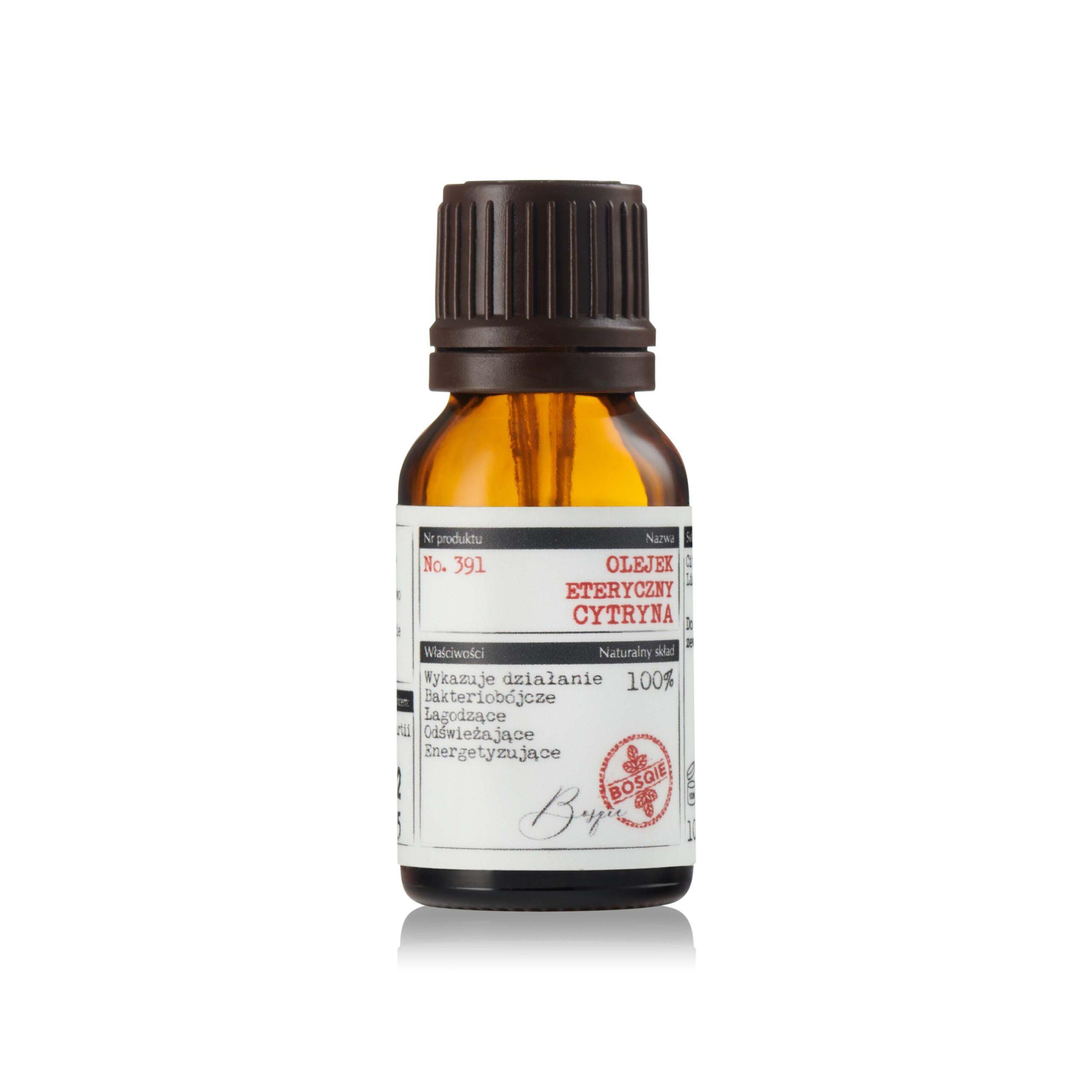 BOSQIE - olejek eteryczny - CYTRYNA